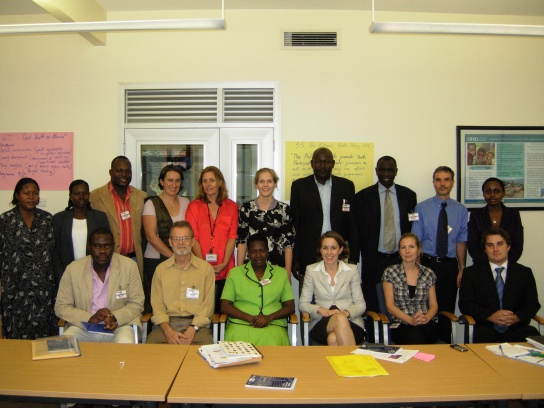 Participants at the Uganda workshop